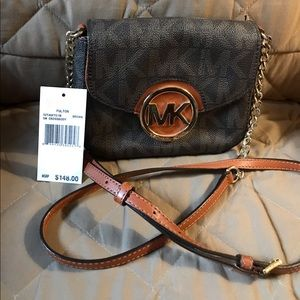Authentic Michael Kors crossbody purse